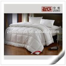 Hotel de 5 estrelas Usado Super macio estilo acolchoado Goose Down edredão