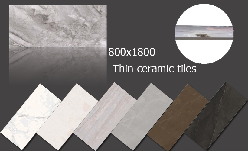 slim porcelain wall tiles