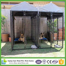 Cheap Double Stainless Metal Steel Dog Cage