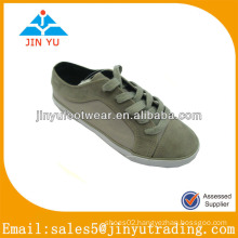 2014 fashion gray canvas shoes for kids