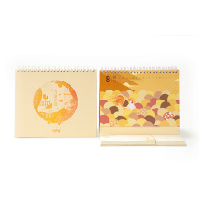 2017 New Design Customized Desk Calendar for Gift