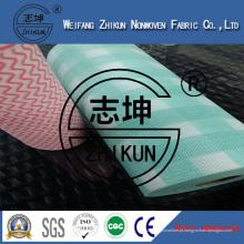Tecido não tecido Spunlace para cozinha limpa (13 mesh e 22 mesh)