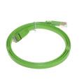 Cable plano del remiendo del alto rendimiento rj45 cat6a