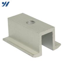 aluminium 6063 toit accessoire de montage de panneau solaire avec longue durée de vie
