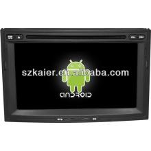 Navegador do dvd do carro do sistema de Android para Peugeot 3008/5008 com GPS / Bluetooth / TV / 3G / WIFI