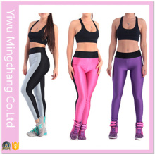 2016 Latest Plus Size Spell Color Women Sport Yoga Pants