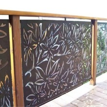 Laser Cut Decorative Screen Outdoor