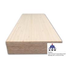 Panneau de bois d'oeuvre de joint de doigt