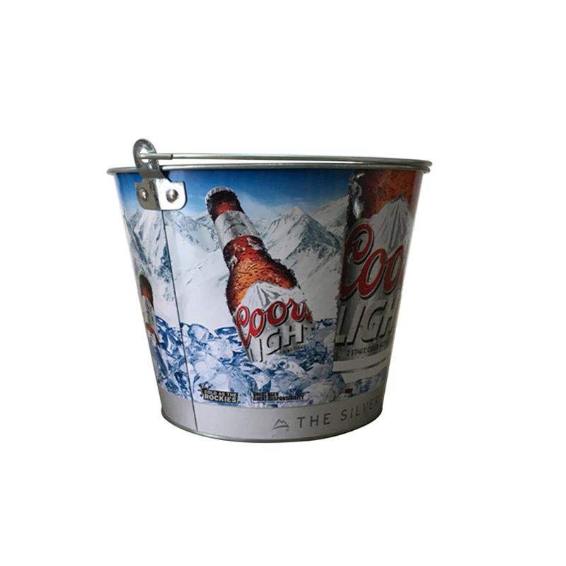 round ice buckets
