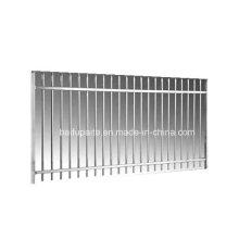 Barrière en métal de vente chaude Barrière de rail de bonne qualité Chine usine directement clôtures fournies