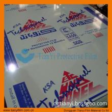 PE protective film for Aluminum composite panel