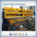 Construction welded mesh for rebar mesh making machine