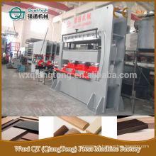 Mdf moldes perfil máquina de prensagem a quente