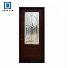 Fangda melhor qualidade de fibra de vidro porta de fibra de vidro porta frp (grq) porta