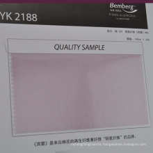 soft colored cotton cupro blend lining fabric