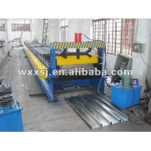 Metal acero suelo Deck hoja panel rodillo que forma la máquina