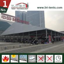 20X100m grande tente pour grande exposition pour les ventes chaudes
