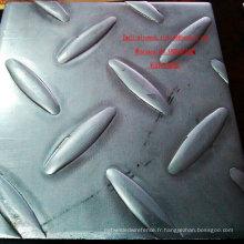 Plaque en acier inoxydable à carreaux / diamants 316 moins chère fabriquée en Chine
