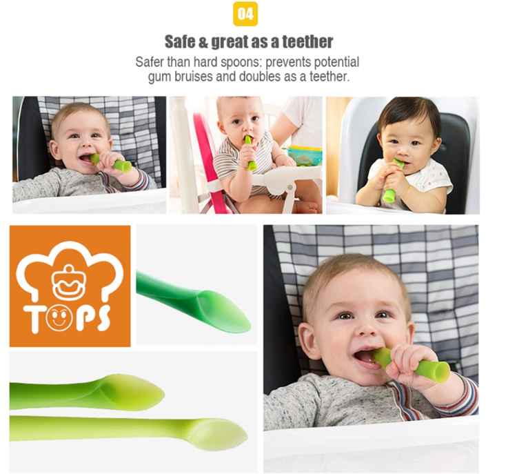 Baby Silicone Spoon