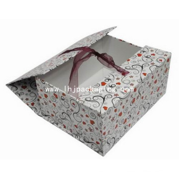 Luxury Rigid Cosmetic Paper Box with Middle Opened Door