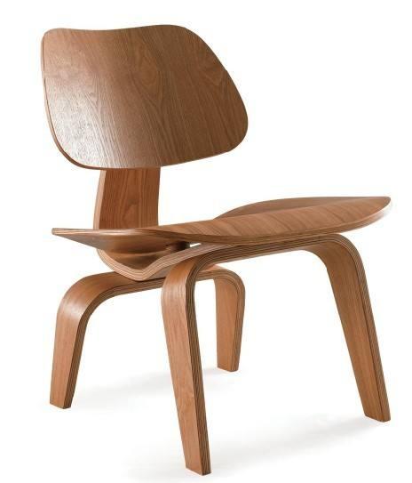 Modern Bamboo Office Chair