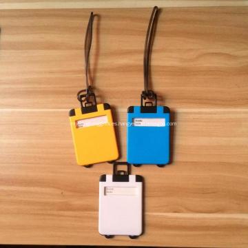 Etiqueta promocional de equipaje de impresión ABS