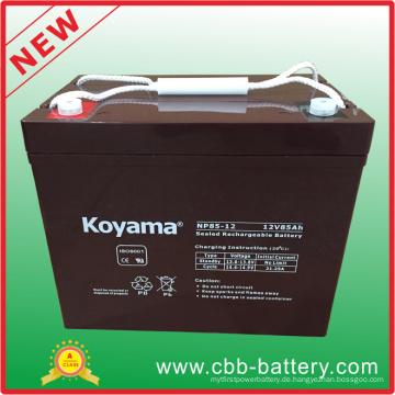Allgemeine Sicherheits-AGM-Batterie Nr. 85-12