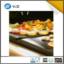 Free Sample PTFE Premium A quality Non-stick BBQ grill mat Manufacture in China