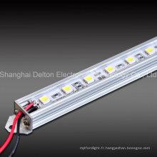 Barre lumineuse LED 7,2 W 24V pour l'utilisation de l'éclairage des meubles et meubles