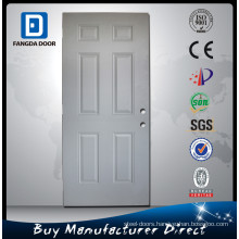 Fangda 6 Panel White steel interior door