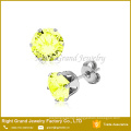 Fashion 316L stainless steel body piercing earring ear studs