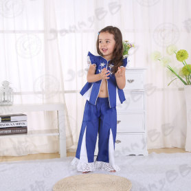 Kids blue fashion outfit
