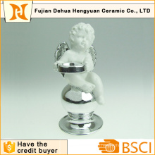 Ceramic Angle Candle Holder for Christmas Decoration