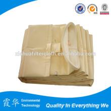 Saco de filtro de líquido micrométrico de fibra de aramida para refinaria de petróleo