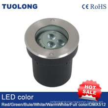 6W LED Inground Light with Angle Adjustable Underground Garden Lighting
