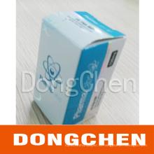 Коробка флакон бесплатно стероиды дизайн горячего тиснения голографической фольги