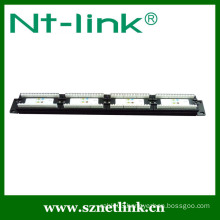 2U 180 degree cat6 48 port patch panel