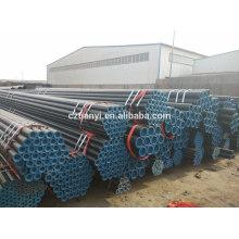 SA53B Tubo de aço soldado para tubo de óleo da China