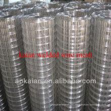 Hebei anping kaian 1 pulgada de malla de alambre soldado galvanizado