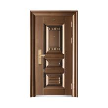 Metal Iron Safety Entry Steel Door