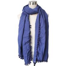 Lady Viskose Matta Voile Fashion Schal (YKY4375-3)