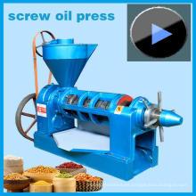 ¡Ventas calientes! Exprimidor de aceite de cacahuete 4.5ton / Day, modelo de máquina de maní Yzyx10-J