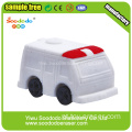 3d Ambulance Mini Shaped Borracha conjunto