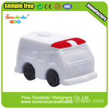 3d Ambulance Mini Shaped Eraser set