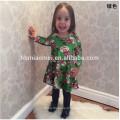 Nouveau Design Enfants Fantaisie Robe Robes De Fête De Noël En Chine Bébé Fille Robe En Couleur Rouge