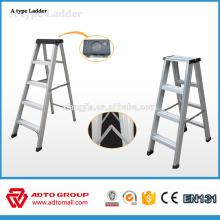 tangga aluminium, escalera escalonada en forma de A, escalera de aluminio