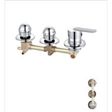 Factory brass bathroom faucets cheap wall chrome faucet shower mixer tap