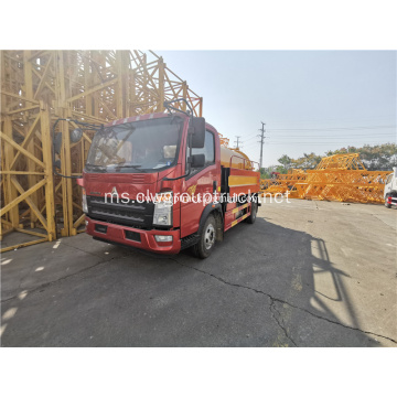 Howo 8CBM Vacuum Suction Sewer Truck
