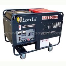 Générateur d'essence à moteur double moteur à grande puissance 12kw Large Power