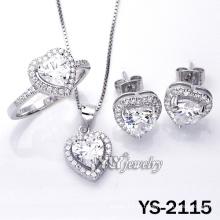 Micro Pave CZ Love Jewelry с серебром 925 пробы (YS-2115)